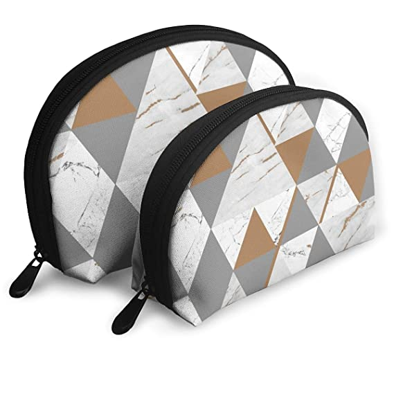 d1670bad9003 Image Unavailable. Image not available for. Color  Maeble Womens Shell Cosmetic  Bags Arrow Makeup ...