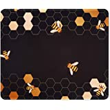 iCasso Mouse Pad with Stitched Edge, Non-Slip Rubber Base and Comfortable Lycra Cloth Mouse Mat, Waterproof Mousepad for…
