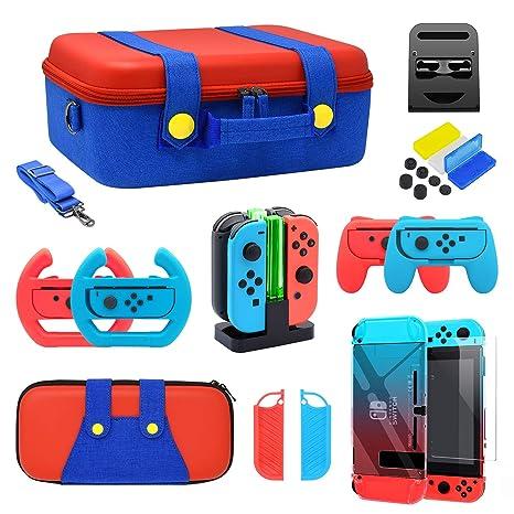 Amazon.com: YUANHOT - Kit de accesorios para Nintendo Switch ...