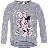 Disney Pullover Top for Girls - Light Grey Melange, 9 Months