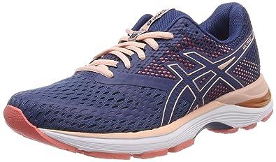 ed763e12811e4 ASICS Women s s Gel-Pulse 10 Running Shoes Blue (Grand Shark Bakedpink 402)