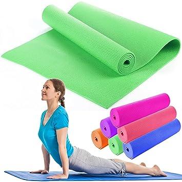 OUTLETISSIMO Alfombrilla Yoga Alfombra Verde Pilates ...