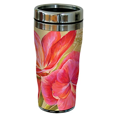 Amazon tree free greetings sg23708 pink flowers by nel whatmore tree free greetings sg23708 pink flowers by nel whatmore travel tumbler 16 ounce m4hsunfo