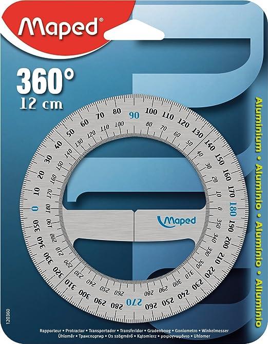 5 opinioni per Maped 120360 Goniometro in Alluminio, 1 pezzo