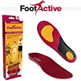 FootActive Workmate Insoles – Best Shock-Absorbing and Comfortable Insoles for Workers on Their Feet All Day – Full-Length Orthotic Insole Fits Most Types of Footwear for Maximum Walking Comfort