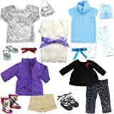 Amazon.com: Barbie Fashion Fever Doll's Cloth Assortment