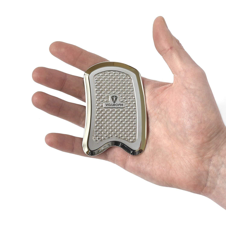 Stainless Steel Graston, IASTM Tool - Anti Slippery - Gua Sha Scraping Massage Tool by ValeoFM