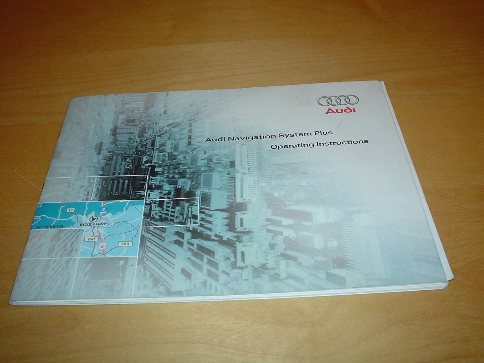 Audi satnav mmi owners instruction handbook satellite navigation.