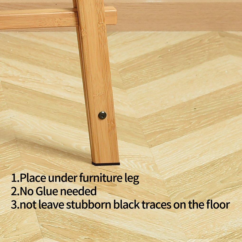 pavimenti in laminato Premium autoadesiva mobili con silicone antiscivolo e feltrini per proteggere il pavimento in marmo in legno massiccio Shintop 8/pz 10,2/cm antiscivolo mobili
