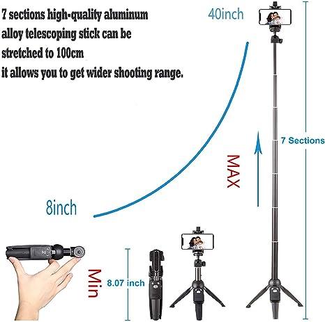 Google LG V20 YHLVE Ultra Mini Perche /à Selfie Extensible Filaire Pliant Portable Outil Photo pour iPhone X//8//8P//7//7P//6S//6P//5S Galaxy S5//S6//S7//S8 Huawei et Plus
