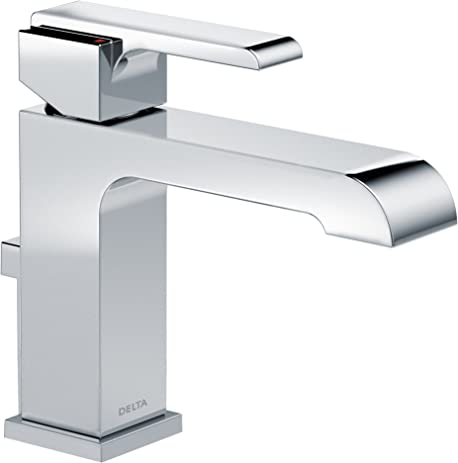 Delta Faucet Delta 567LF-MPU Ara Single Handle Single Hole Bathroom ...