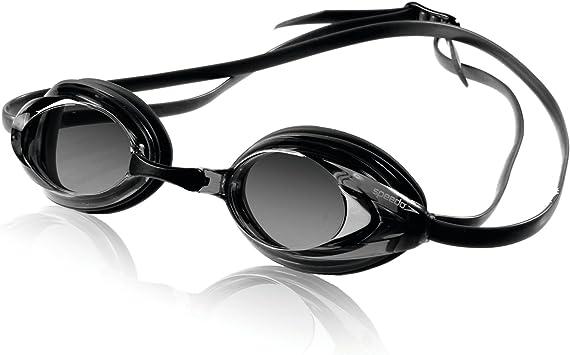 Speedo Óculos de natação unissex para adultos, óculos de segurança Vanquisher 2.0