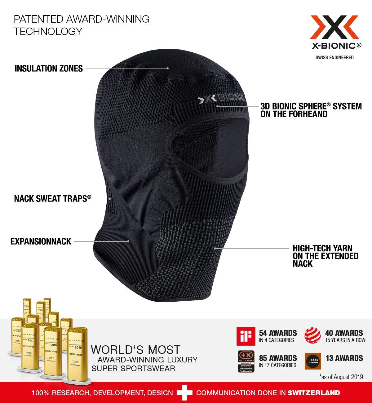 X-Bionic Stormcap Eye 4.0 Masque dhiver Mixte