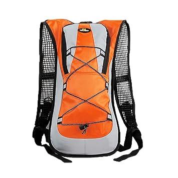 LAAT sac à dos d'hydratation sac imperméable à l'eau vélo sac à dos sac à dos de l'eau vélo sacs de montagne sacs d'alpinisme sacs de voyage épaule sac à main (Bleu) zeMdWT5