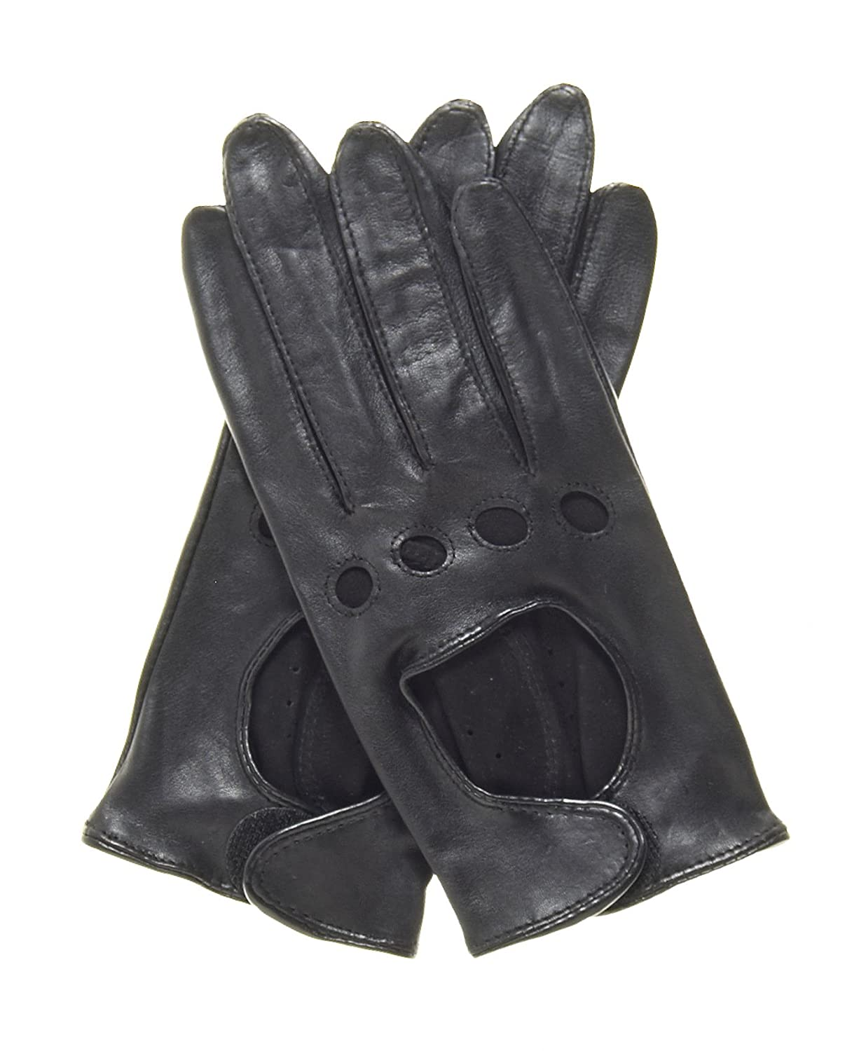 Ladies unlined leather driving gloves - Pratt And Hart Women S Womens Leather Driving Gloves Size S Color Black At Amazon Women S Clothing Store Cold Weather Gloves