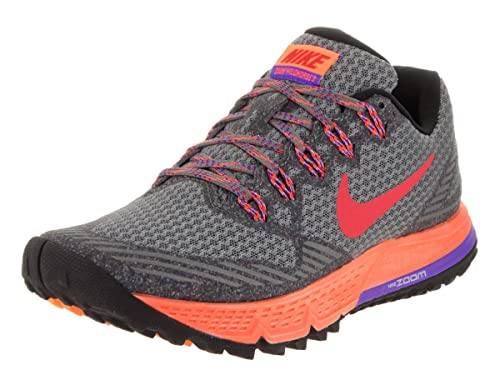 Amazon.com | NIKE Womens Air Zoom Wildhorse 3 Tumbled Grey/Ember Glow Running Shoe 6 Women US | Road Running