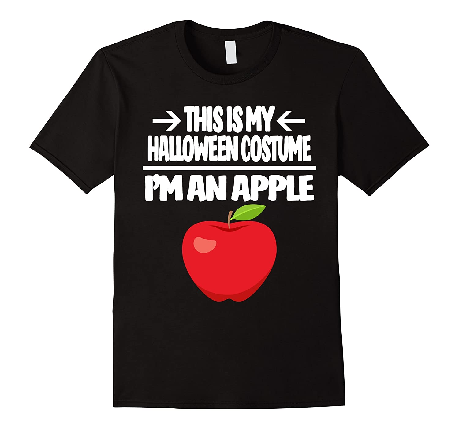 Apple Halloween Costume Tshirt - Men Women Youth Sizes