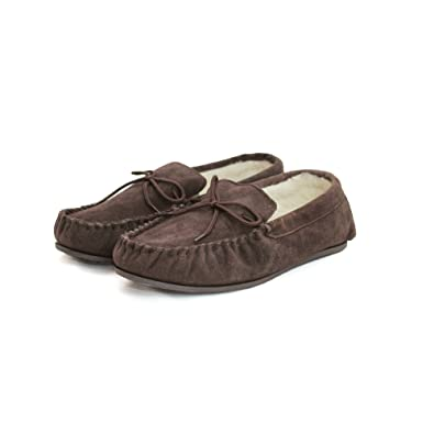 Eastern Counties Leather Unisex Moccasins mit harter Sohle: Amazon.de:  Bekleidung