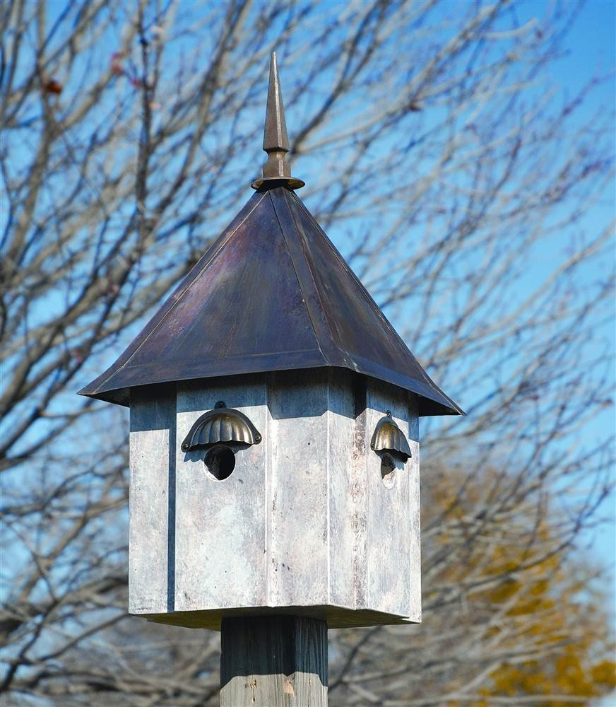 Heartwood 151A Avian Meadows Decorative Bird House