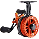 Fiblink Inline Ice Fishing Reel Right/Left In Line Ice Reel with 4+1 Ball Bearings