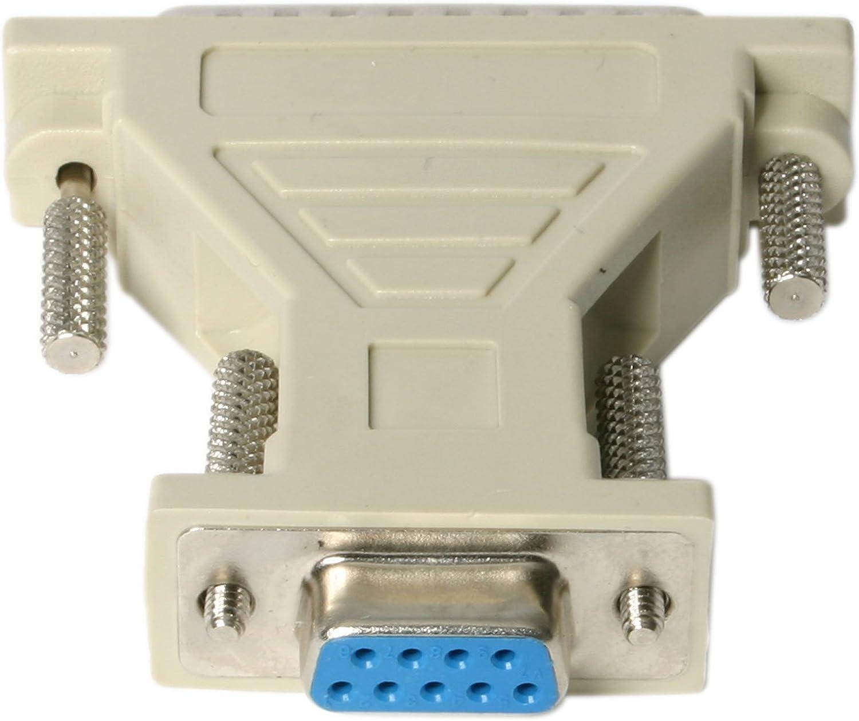 StarTech.com Adaptador de cable serie DB9 a DB25 - H/M: Amazon.es: Electrónica