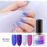 Born Pretty Nail Art Thermal Polish Peel Off Sunlight Sensitive Color Changing Lacquer Varnish DIY Manicure