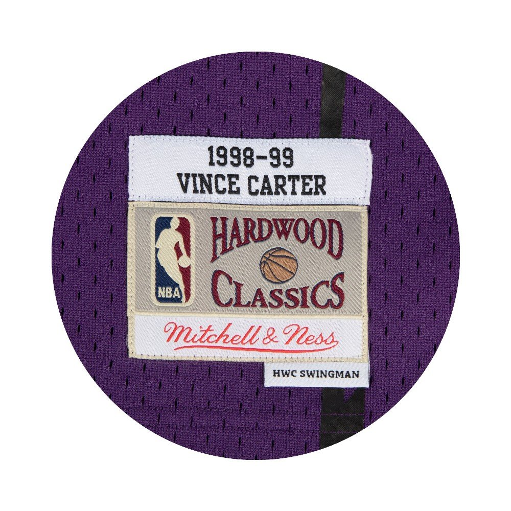 53989c6cc Amazon.com   Mitchell   Ness Vince Carter Toronto Raptors Purple Throwback  Swingman Jersey   Sports   Outdoors