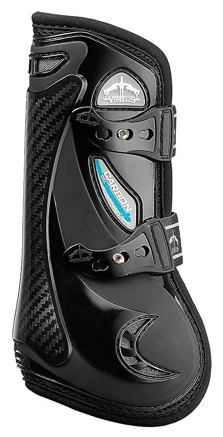 Veredus Carbon Gel Vento Front Tendon Boots Black Pferde-Gamaschen Pferdeausstattung & Zubehör