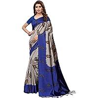 ANNI DESIGNERArt Silk with Blouse Piece Saree