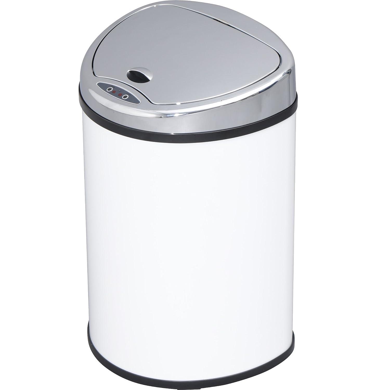アイリスプラザ ゴミ箱 自動 開閉 センサー付 48L ホワイト