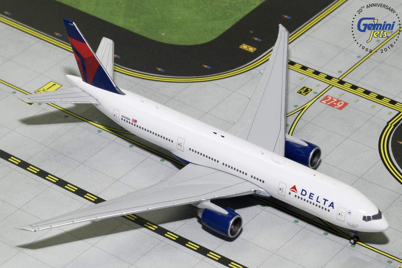 GeminiJets Delta Air Lines B777-200LR N708DN 1:400 Scale Diecast Model Airplane