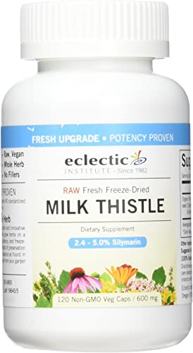 Milk Thistle Seed 600mg Freeze-Dried Organic