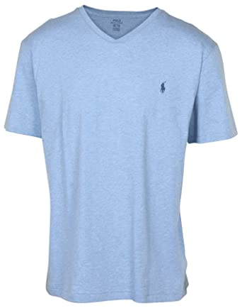 dbcbc24b Polo Ralph Lauren Men's Classic Fit V-Neck T-Shirt at Amazon Men's ...