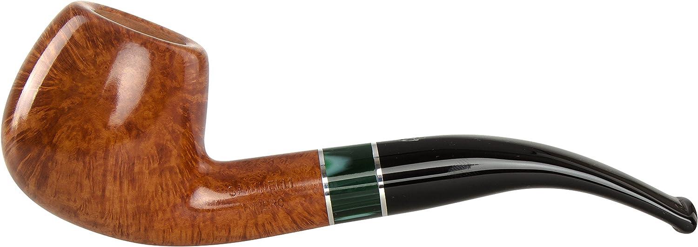 Savinelli Impero 636 KS Smooth Tobacco Pipe - Bent Apple