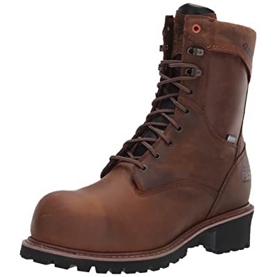 "Timberland PRO Men's Buzzsaw 9"" Composite Toe Waterproof Logger Industrial Boot 