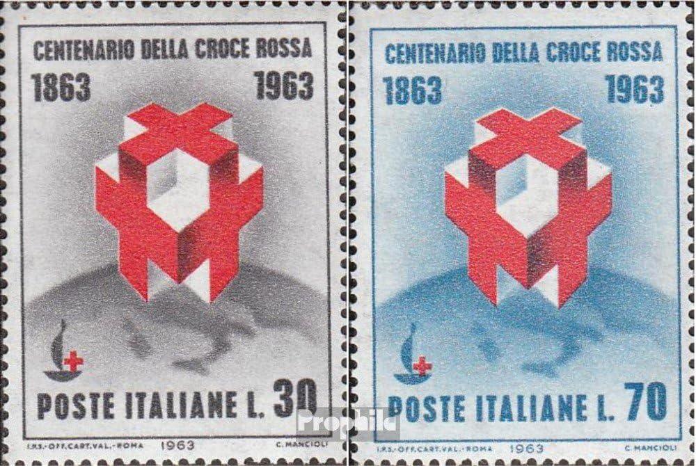 Prophila Collection Italia Michel.-No..: 1145-1146 (Completa.edición.) 1963 roja Cruz (Sellos para los coleccionistas) Cruz Roja: Amazon.es: Juguetes y juegos