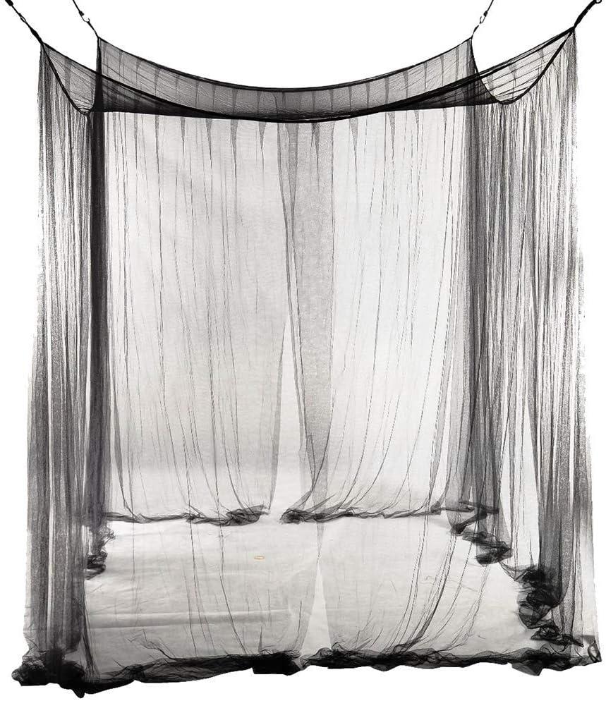 240CM-White DPSLYXCD LWZ Universal Mosquito Net 210 4-Corner Bed Netting Canopy Netting Bedding Decoraci/ón del Dormitorio para Interiores al Aire Libre 190