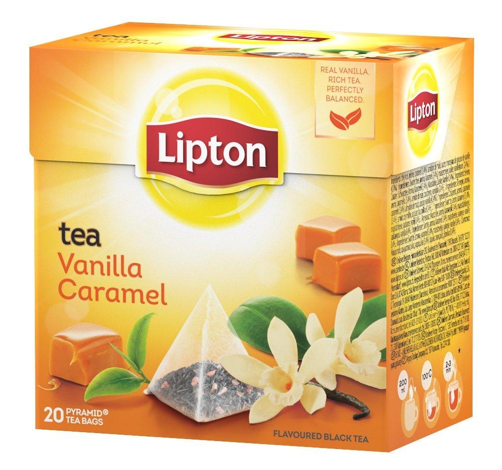 Lipton - Té Vainilla Y Caramelo, 20 x 1.7 gr: Amazon.es: Alimentación y bebidas