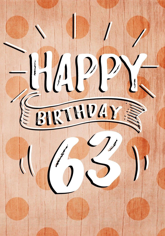 Download Happy Birthday 63: Birthday Books For Women, Birthday Journal Notebook For 63 Year Old For Journaling & Doodling, 7 x 10, (Birthday Keepsake Book) PDF