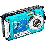 Underwater Camera FHD 2.7K 48 MP Waterproof Digital Camera Selfie Dual Screen Full-Color LCD Displays Waterproof Digital…