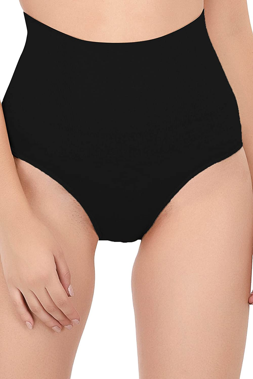 33b6f0e602 Quttos Tummy Tucker Waist Slimmer Panty Women s Shapewear (Black