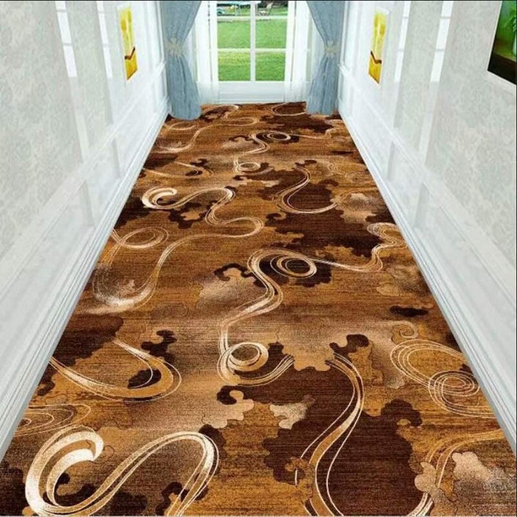 Color : A, Size : 0.82m Mbd Long and Narrow Carpet Corridor Floor with Non-Slip Back Door Entrance Carpet Thin Entrance Pad Indoor and Outdoor