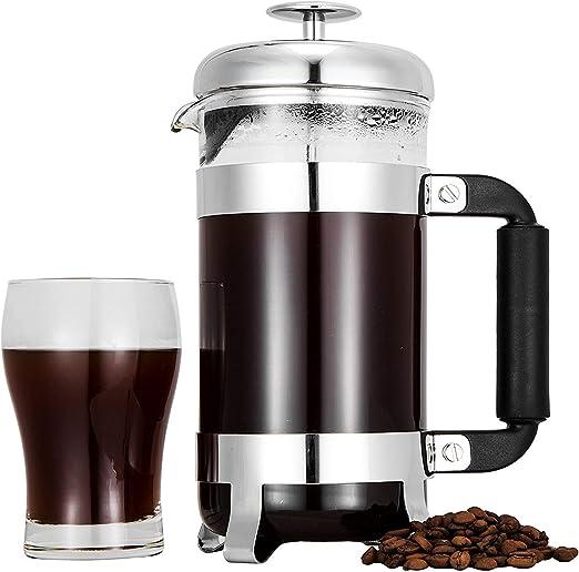Cafetera de prensa francesa para 8 tazas, cafetera, prensa de café ...