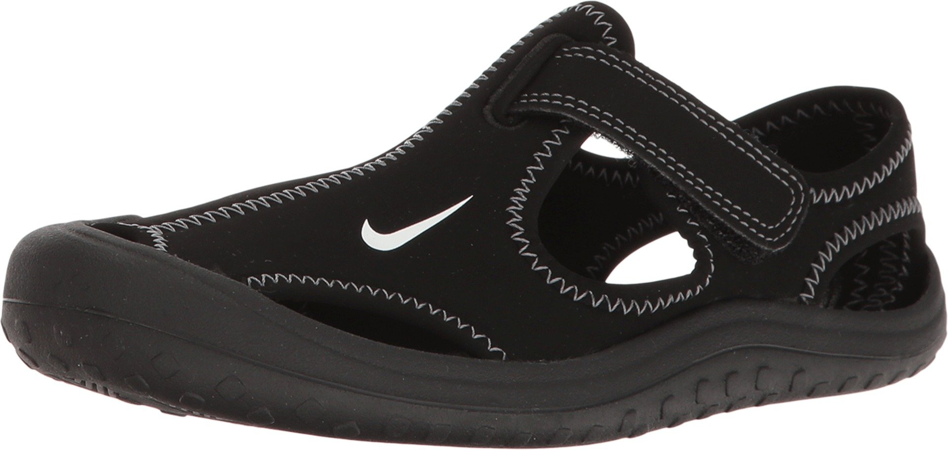 Nike Sunray Protect (PS) Little Kid's Shoes Black/White/Dark Grey 903631-001 (1 M US)