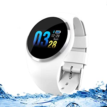 Zeerkeer Smartwatch, Reloj Inteligente Pulsera de Actividad con ...
