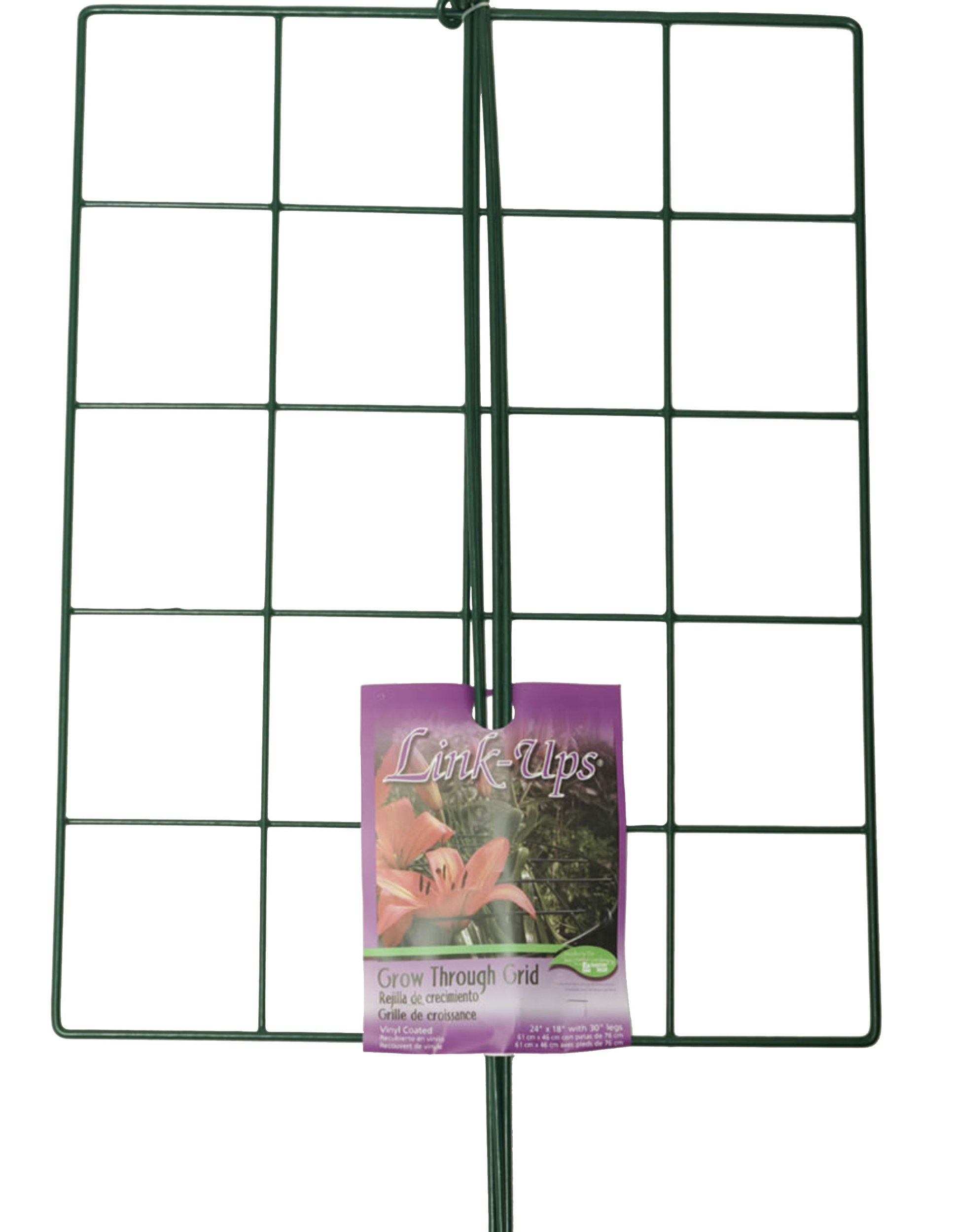 "Luster Leaf (970) 24"" x 18"" Rectangle Grow Through Grid w/ 30"" legs by Luster Leaf"