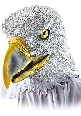 Máscara de águila halcón – Adulto – Talla única – Halloween – 1077