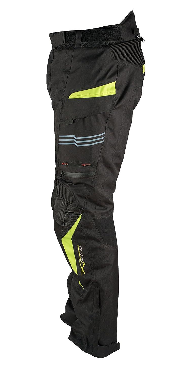 A-pro Moto Pantalon Impermeable Thermique Protections CE Thermique Fluo 38