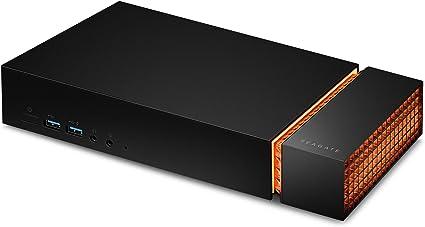 Seagate Firecuda Gaming Dock 4 TB, Disco duro externo portátil, Thunderbolt 3, con NVMe expansible (STJF4000400): Amazon.es: Electrónica