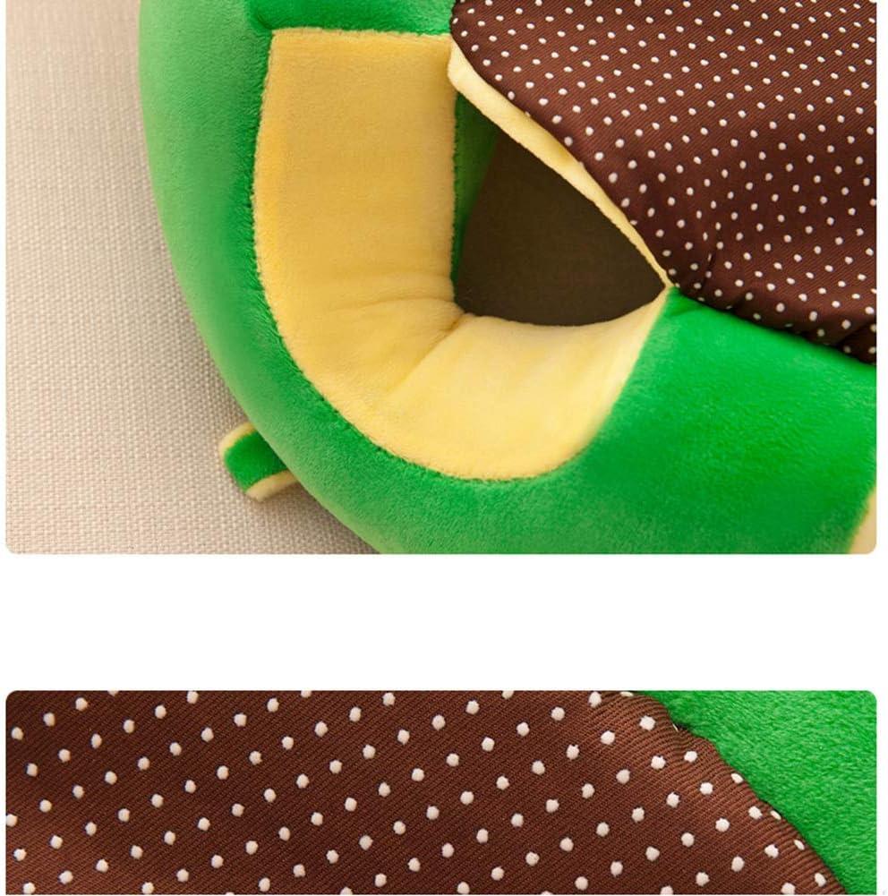 Urmagic B/éb/é Coton Doux Support de Chaise Motif Color/é Coussin Oreiller Canap/é en Peluche Jouets pour enfant meubles rond Assise de chaise